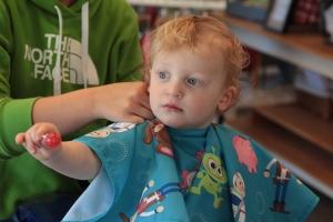 David's Frist Haircut - 0006